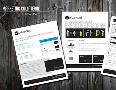 Urban Card: Marketing Collateral