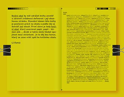 Book cover / obsah jako obal