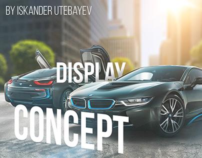 BMW i8 Concept Display