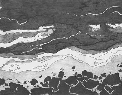 Study of seashore :: Studija morske obale
