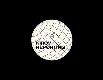 kirov reporting/ logo & album covers