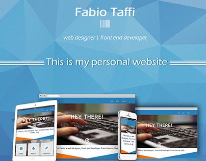 Fabio Taffi Personal Website