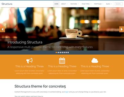 Structura Concrete5 Theme