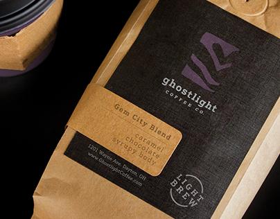 Ghostlight Coffee: Logo Design