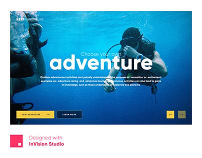 Next Adventure | Concept