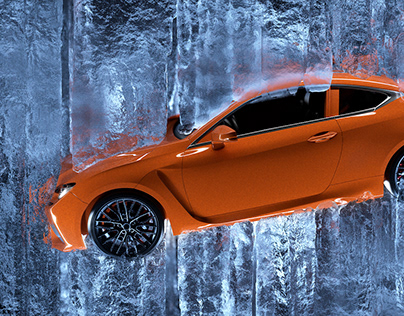 Lexus in Ice