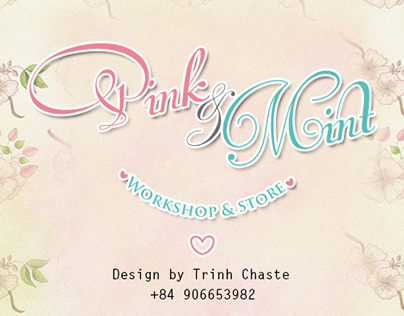 Pink & Mint ♥ Workshop & Store ♥ Goods