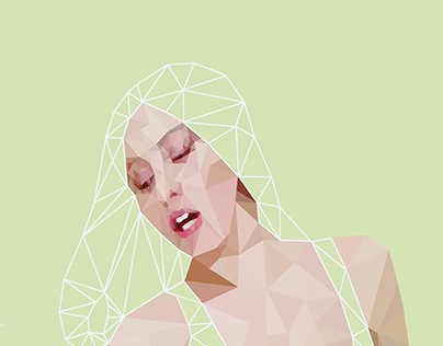 Fan Art GAGA | Low-poly