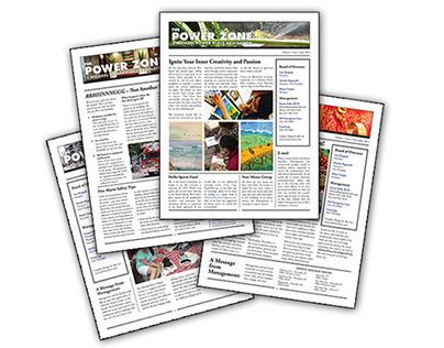 The Power Zone Quarterly Newsletter