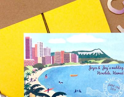 Hawaii Save the Date