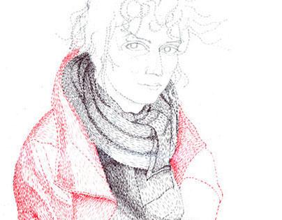 Calamity Jane Portrait Series Coloured Pencil
