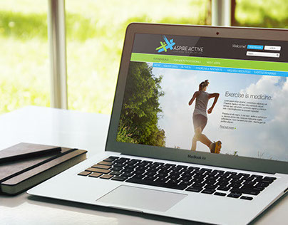 Aspire Active - Brand Identity & Website Design