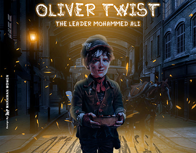 Oliver Twist (book cover)