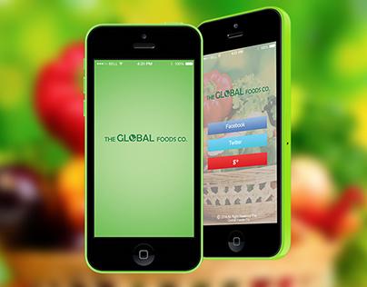online food purchasing App design