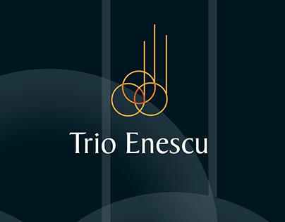 Corporate design Trio Enescu chamber musicians