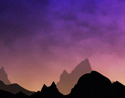 Mountains & Sunset
