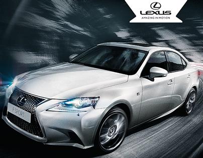 Lexus Peru - Digital ads
