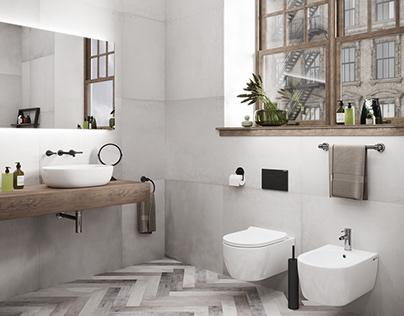 Bathroom for Ceramica NOVA