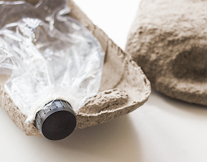 Pots of Paint Sustainable Packaging