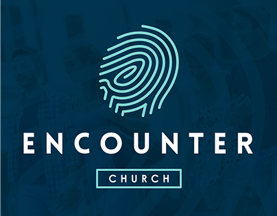 Encounter Church | Church Plant Logo, Landing Page