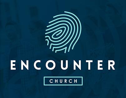 Encounter Church | Church Plant Logo, Landing Page