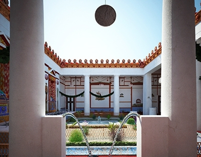 3D reconstruction of Casa del Torello di Bronzo