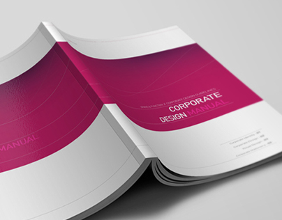 Corporate Design Manual Guide - 28 Pages