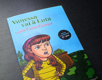Illustrations for the book Vanessa Vai à Luta