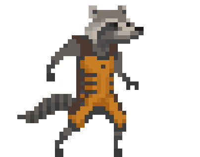 Guardians of The Galaxy - Pixel