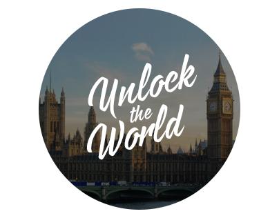 Unlock the World — Website Design
