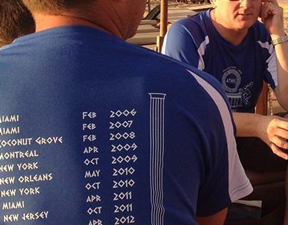 Traiana T-shirt Athens 2014