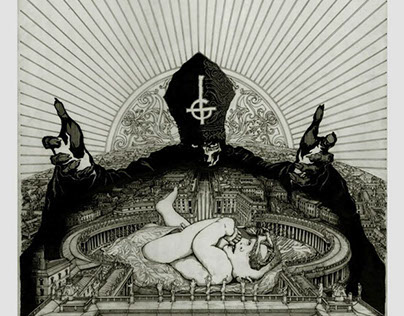 Ghost Infestissumam complete artwork: prints