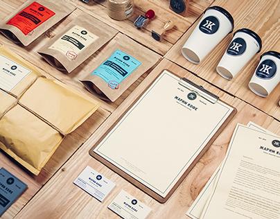 """""""Жарим Кофе"""" Coffee Roasting Company Identity"""