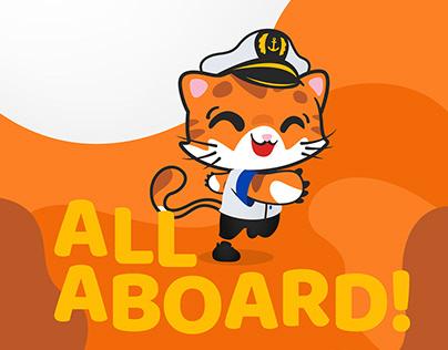 FastCat Brand Mascot