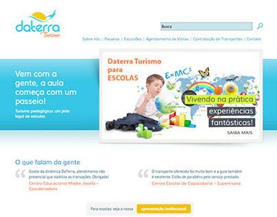 Daterra Turismo Website