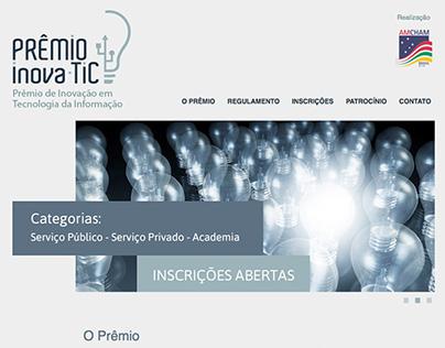 Prêmio Inovatic Website