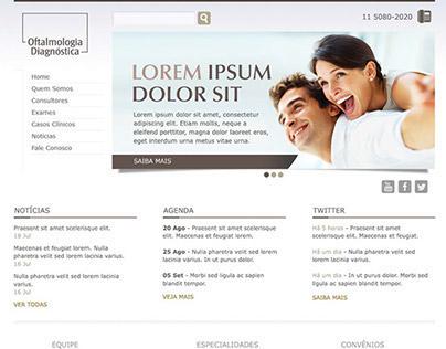 Oftalmologia Diagnóstica Website