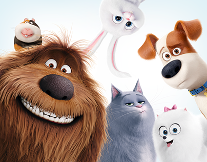 The Secret Life of Pets PetMOJI Mobile & Web App