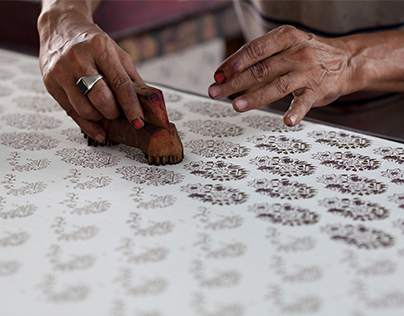 """Special Needs - """"Block Printing in India"""""""