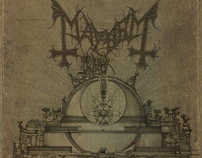 Mayhem Esoteric Warfare complete artwork