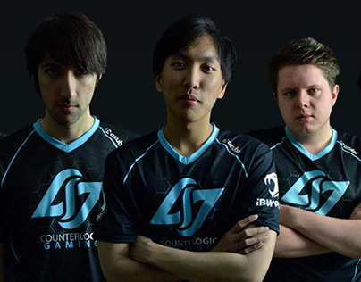 Counter Logic Gaming jersey design