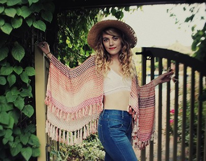 Grand Canyon Inspired Poncho