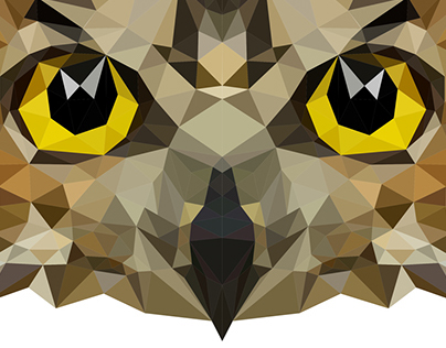 Low Poly - Coruja | Owl