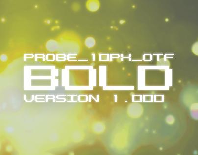 PROBE_10PX_OTF Bold Version 1.000