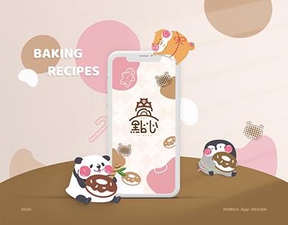疊點心 Day To Bake | Concept Mobile Application