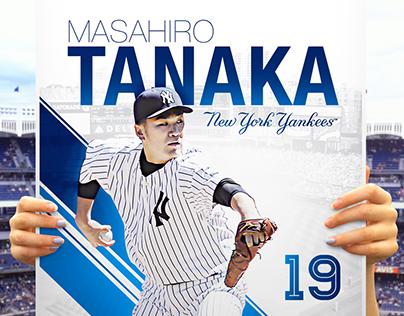 Masahiro Tanaka Poster Day