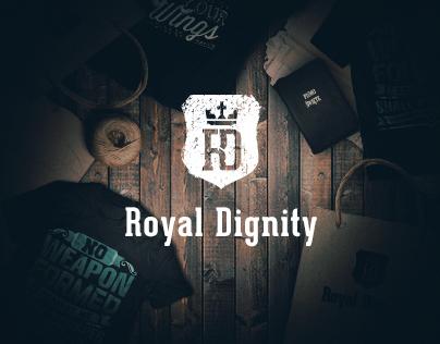 RoyalDignity landing shop page