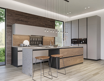 B1 kitchen by INSTYLE