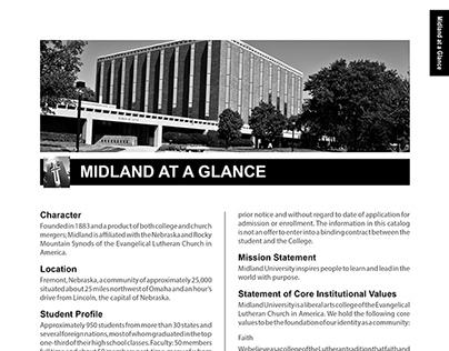 Midland Lutheran College Academic Catalog, 2008