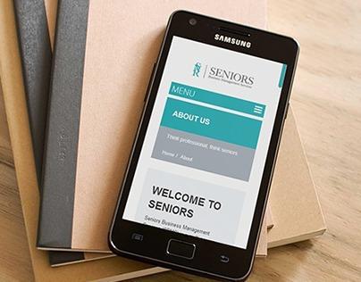 Seniors HTML Website